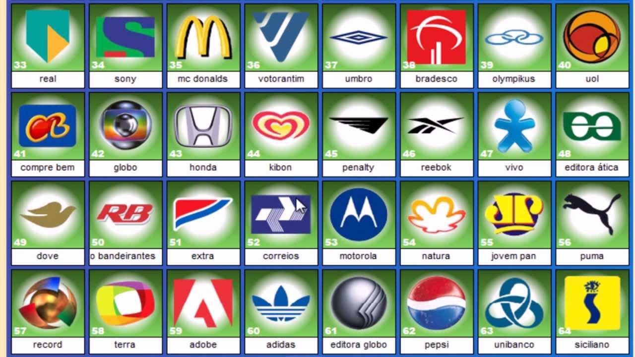 Flash Pops Logos e Marcas 1 e 2, Bandeiras e Animais DETONADO - HD ...