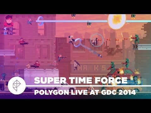 Super Time Force - Polygon Live at GDC 2014
