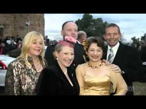 Wedding season: Prime Rorter Tony Abbott in trade talks & travel rorts