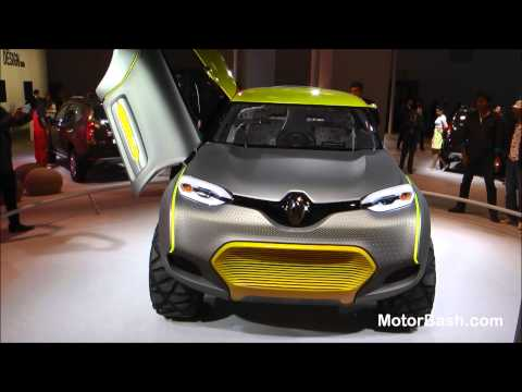 Walk around Renault's stall (Uncut) - Auto Expo 2014 Delhi, India