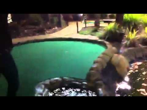 Greatest Putt-putt Shot Of All Time - Ghost Ball