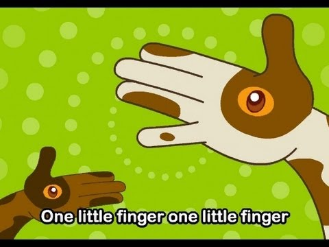 One Little Finger   | nursery rhymes & children songs with lyrics | muffin songs