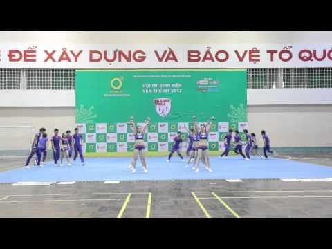 [ĐH Duy Tân] Đội Cheerleading DTU tham dự Uleage 2012