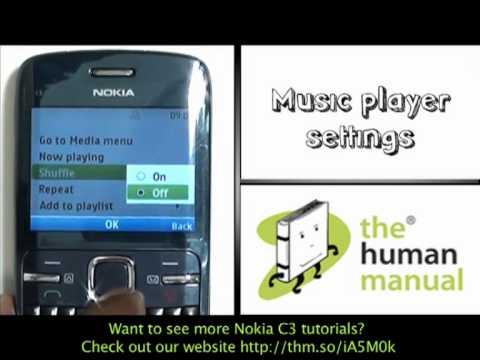 Musica Nokia C3