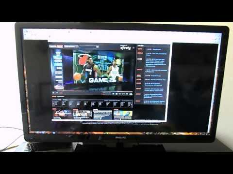 Review: ChromeOS as a Media Center - ChromeBox - Netflix - Hulu - Amazon - Watch ESPN - Youtube