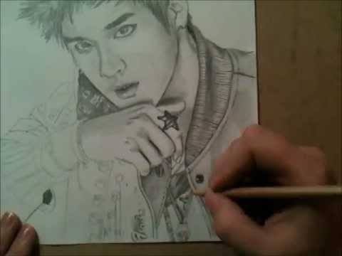 Drawing KPOP - BTOB - Peniel, Oh goodness the time between cuts for this Peniel drawing is about one month... or more.. haha. I need to get back in the swing of things. Hopefully after th...