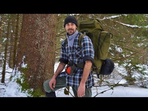Das Abenteuer beginnt!  Winter Waldläufer Lager - Tag 1