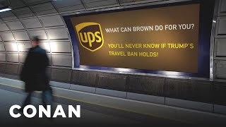 More Brands Are Trolling Trump  - CONAN on TBS