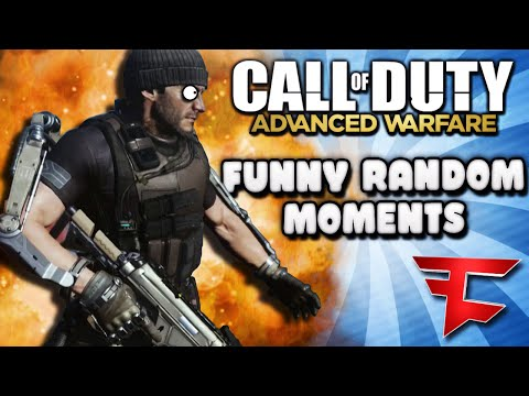 COD Advanced Warfare Funny Moments - Trickshotters Exposed, Squeaker Dinner, Clutch It (Funtage)
