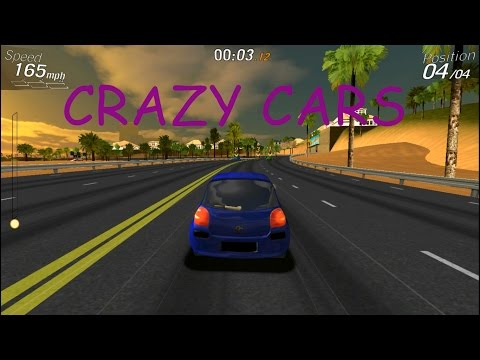 CRAZY CARS free running PC/ANDROID gameplay 2017