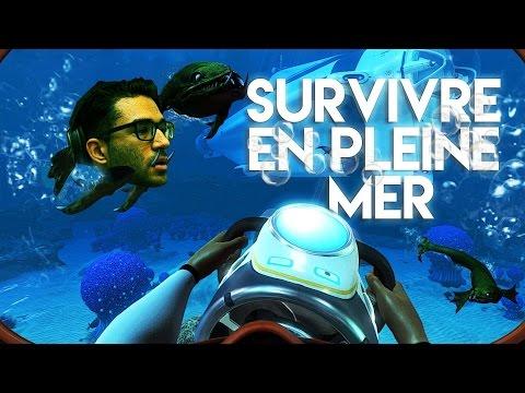 SOUS LA MER, C'EST L'ENFER ! Subnautica gameplay
