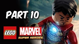 LEGO Marvel Super Heroes Gameplay Walkthrough Part 10