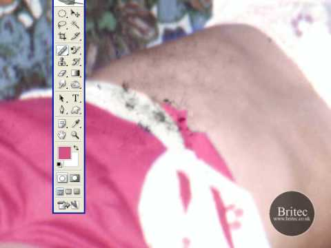 Removing Stains, Dirt and Discoloration in Photoshop - YouTube