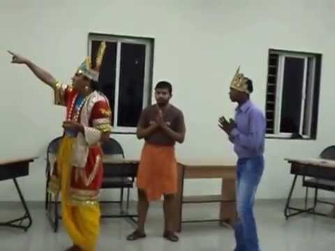 DRAMA ON DHARMAPADA IN UTKAL DIVAS, AT CENTRAL UNIVERSITY OF GUJARAT