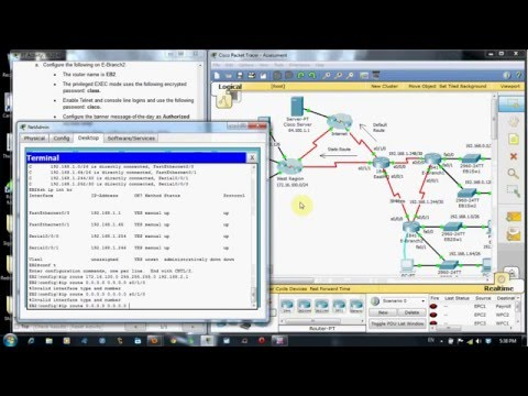 CCNA 2 FINAL EXAM PRACTICAL SOLUTION