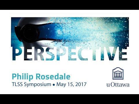 Philip Rosedale's Presentation for University of Ottawa Symposium