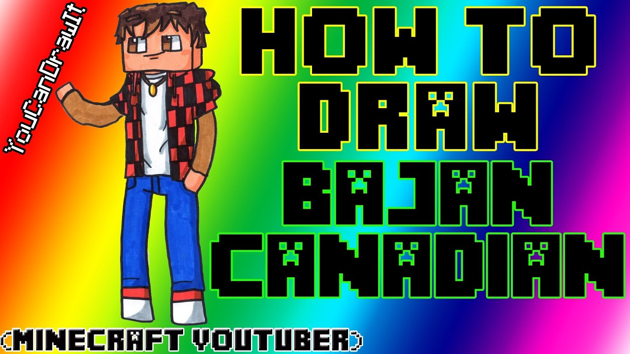 minecraft bajan canadian coloring pages - photo#29