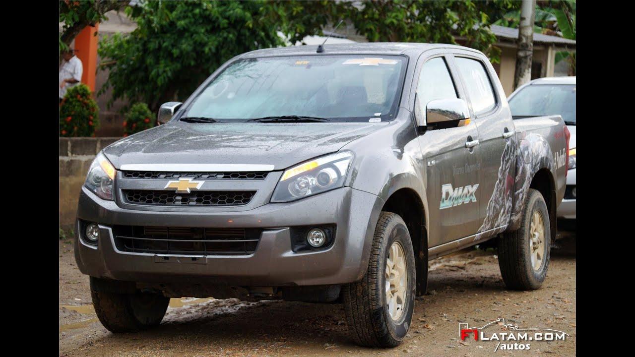 Nueva Chevrolet D-Max 2014 en Colombia - Lanzamiento Oficial - YouTube