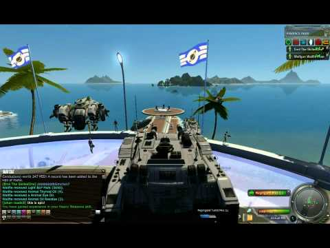 Firing a tank in Entropia Universe, Here is a guy show how he handels his tank in ENtropia, I so want one of these bad boys :D