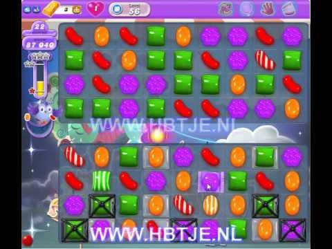 Candy Crush Saga Dreamworld level 56