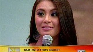 SC: Sam Pinto, FHM's Sexiest Pinay 2012 view on youtube.com tube online.