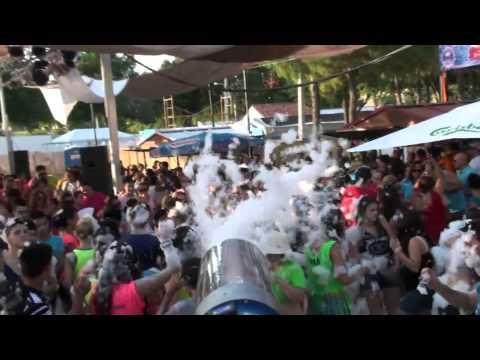 Fiesta de la Espuma VIDEO SIMPL Feria de San Clemente 2013