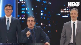 Stephen Colbert & John Oliver Take Over The Stage | Night Of Too Many Stars | HBO
