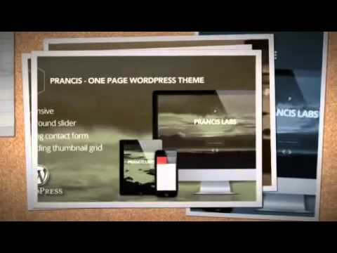 Prancis   One page WP theme Download