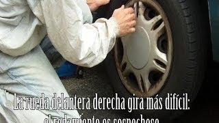 Aprende a identificar el sonido de un rodamiento de rueda defectuos