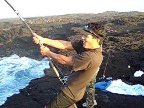 Presents ulua fishing on the big island of for Fishing big island hawaii