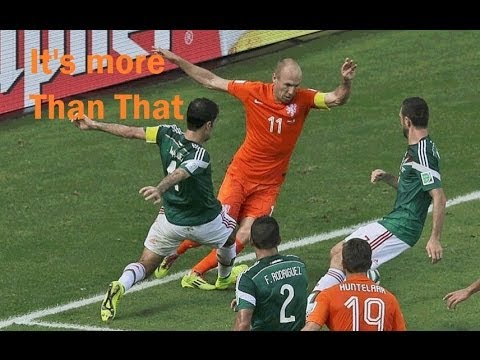 Arjen Robben's Dive Wasn't the Reason why Mexico lost vs Netherlands 2-1