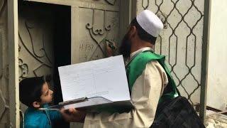 بدء أول احصاء سكاني في باكستان منذ 19 عاما |