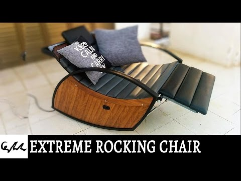 Extreme rocking chair