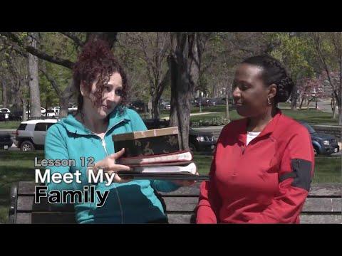 Tiếng Anh cơ bản bài 12: Gặp gia đình mình nhé!