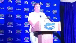 "Florida coach Jim McElwain on Texas A&M loss: ""It hurt."""