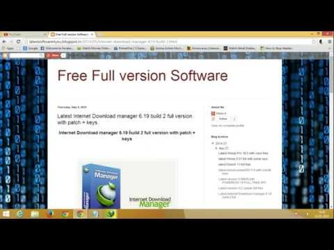 IDM 6.19 Full Free Download + Crack + How to install & crack (2014)