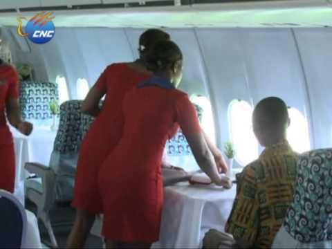 PLANE RESTAURANT IN GHANA