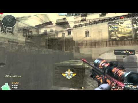Phim sniper Crossfire CF| AWM Magma 1 mạng cân team và cái kết :)) | Tập bắn snap sniper cf Đột kích
