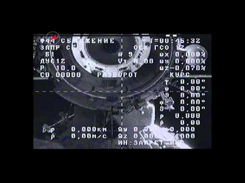 Russian Cargo Ship Departs the ISS