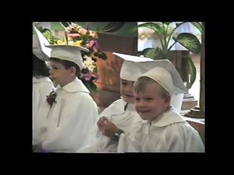 St. Mary's Kindergarten Graduation 6-19-02