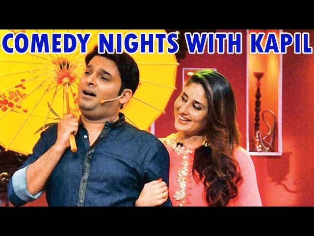 Comedy Nights with Kapil : Kareena Kapoor and Imran Khan with Kapil Sharma - 24th November 2013