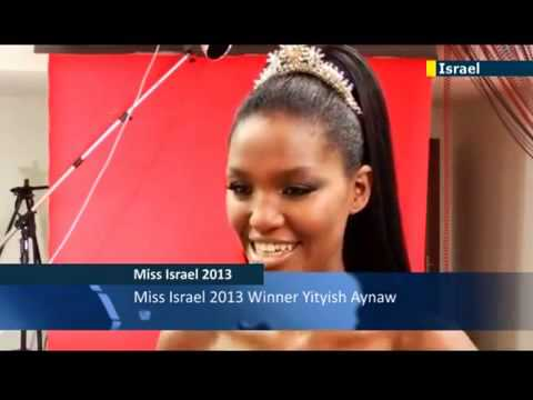 21-year-old Ethiopian becomes Miss Israel (video)