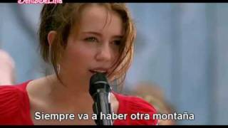 Miley Cyrus The Climb (En Español) HQ