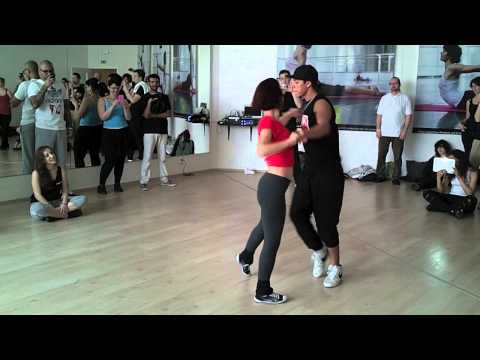 Dadinho & Janaina - Zouk Workshop Demo - Prague Zouk Congress 2013 - Day 02