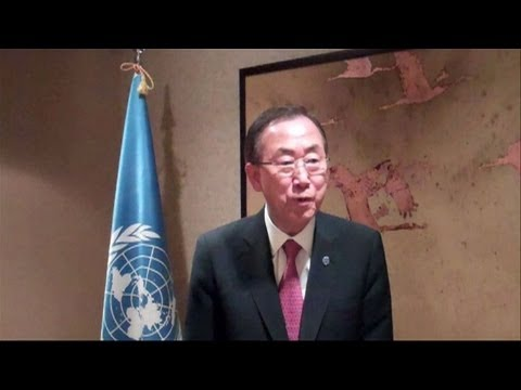 Ban Ki-moon speaks out after Syria UN inspectors shot at
