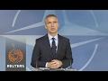 "NATO says trans-atlantic bond ""rock solid"" as Tillerson visits"