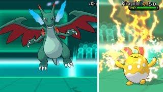 Pokemon X And Y Multi WiFi Battle #55: Shiny Mega