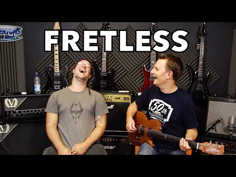 Ever wondered what a fretless electric guitar sounds like??