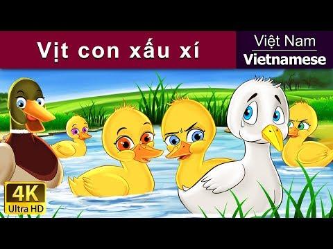 Vịt con xấu xí - Chuyện thiếu nhi - Chuyện cổ tích - 4K UHD - Vietnamese Fairy Tales