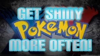 Pokemon X And Y How To Get SHINY POKEMON More Often